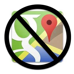 Apple Maps no longer uses Google Maps!