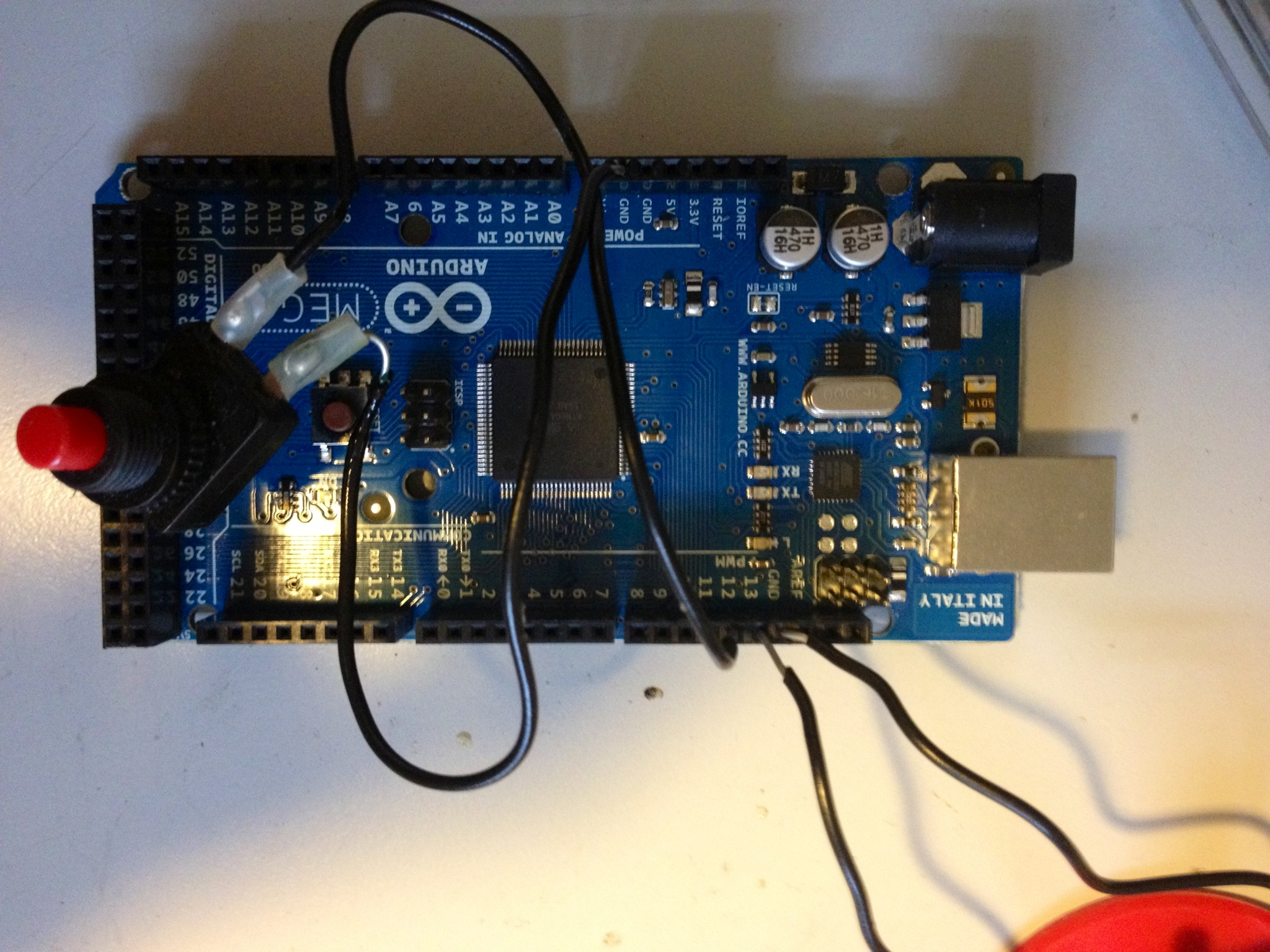 Arduino Tutorial For Complete Beginners Using A Button Diagram Also Servo Motor Control On Usb Board With Breadboard