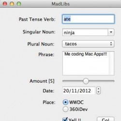 Core Controls in Mac OS X: Part 1/2