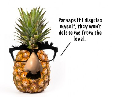 Sorry, pineapple. Your time is up.