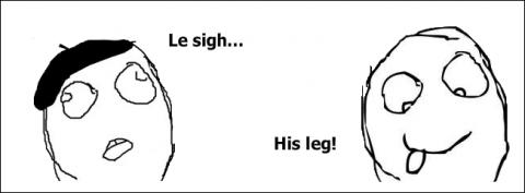 LeSighHisLeg