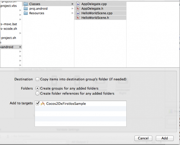 Xcode-file-selection