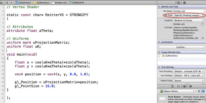 Shader Syntax