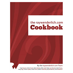 Official raywenderlich.com Cookbook Now Available!