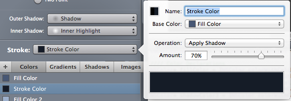 stroke color in PaintCode