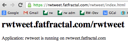 Deploying to Fat Fractal