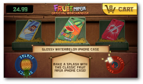 Fruit Ninja Merchandise