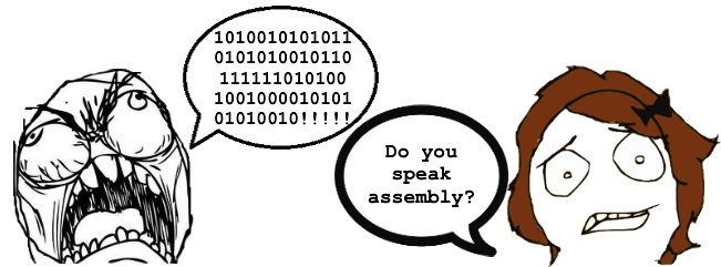 """Each assembly instruction is designed to tell the CPU to perform a task such as """"add these two numbers"""" or """"load the contents of this portion of memory."""""""