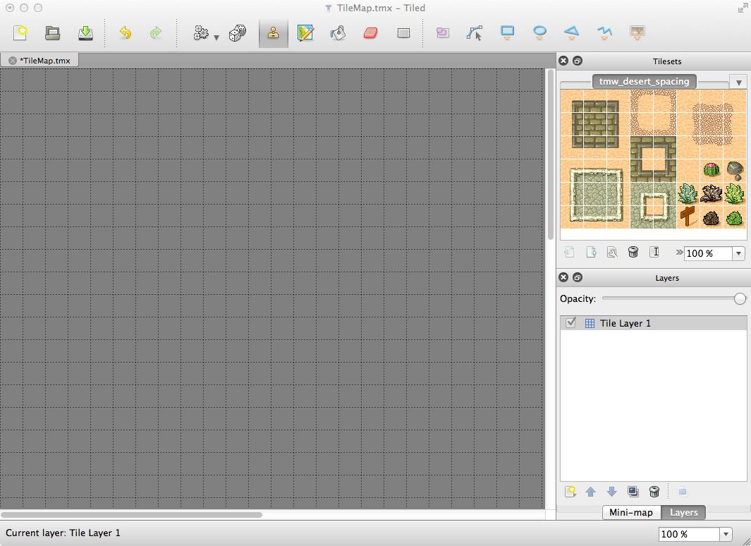 Tiled cocos2d-x tile map tutorial: part 1