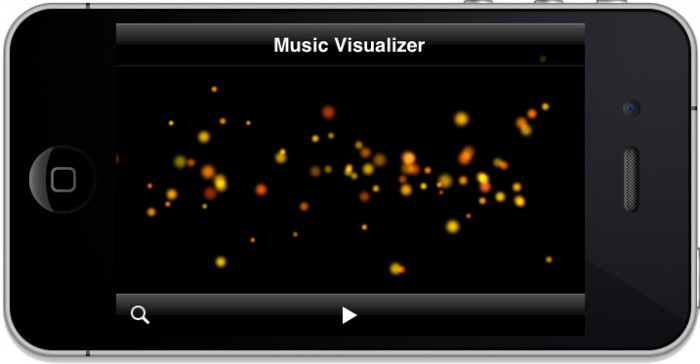 Music Visualizer without Music