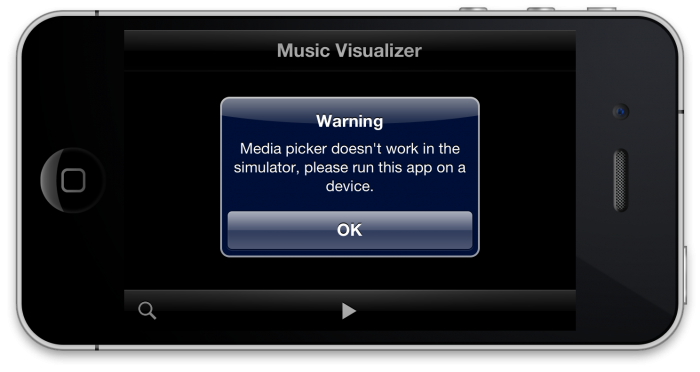 01 - Media Picker Warning