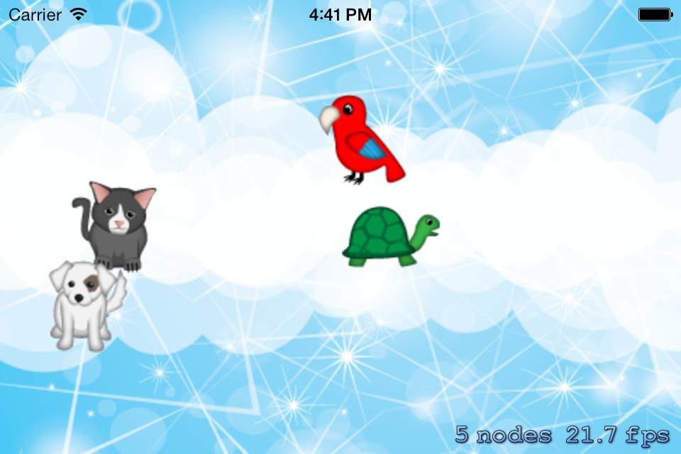 Dragging sprites with touch with Cocos2D