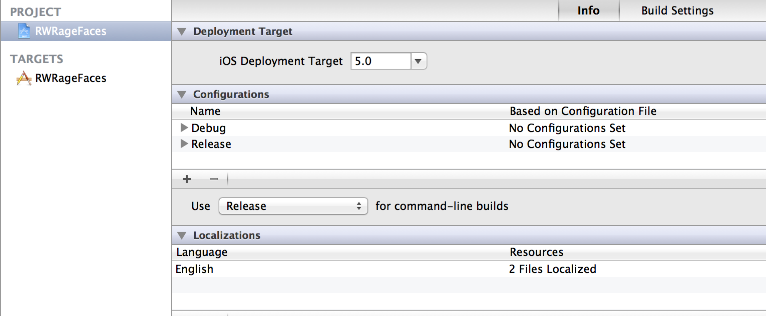 Supporting Multiple iOS Versions and Devices | raywenderlich com