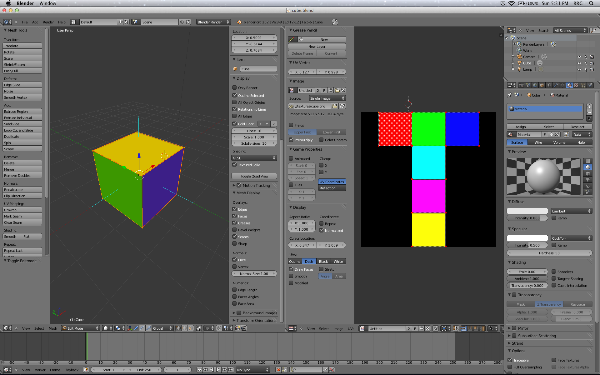How To Export Blender Models to OpenGL ES: Part 1/3