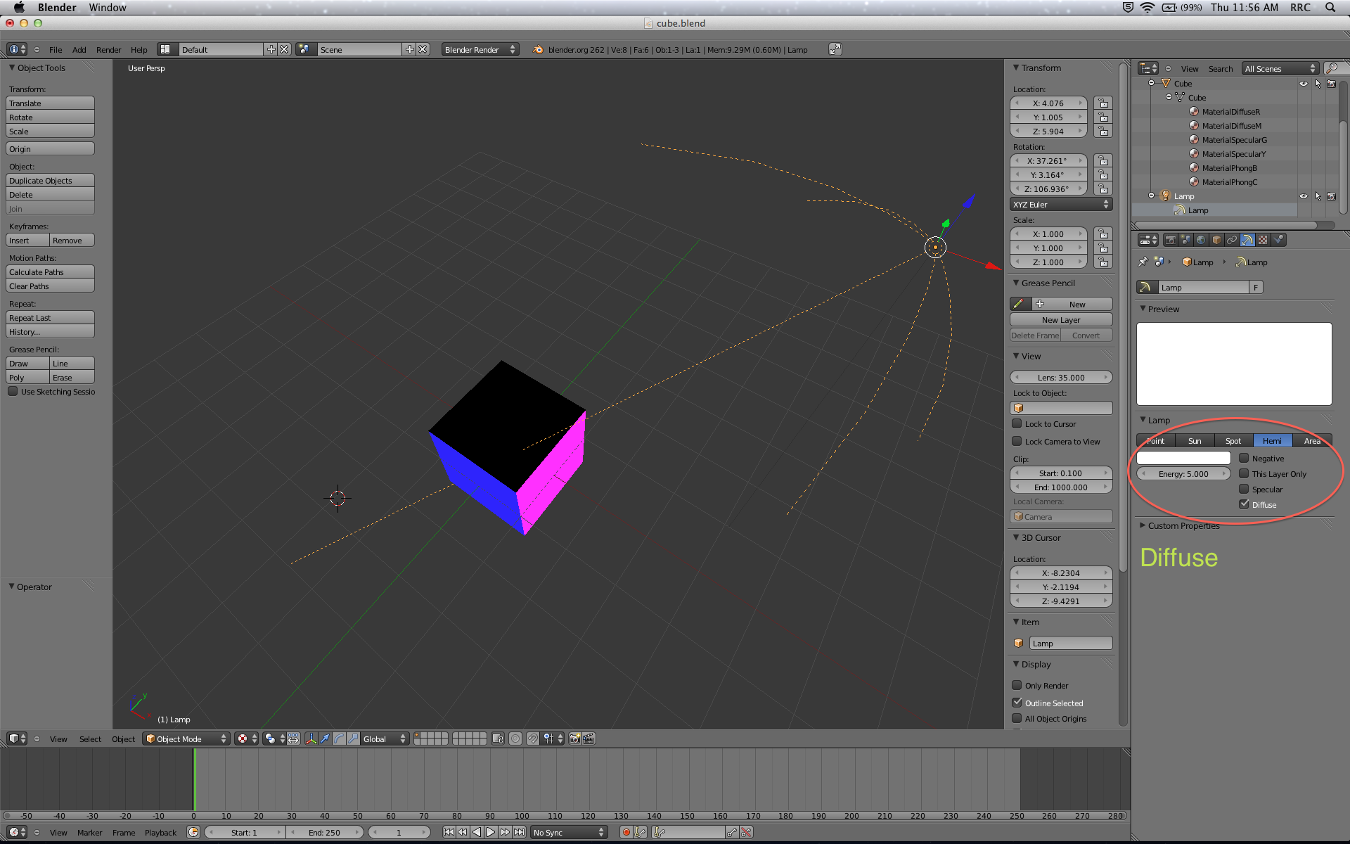 How To Export Blender Models to OpenGL ES: Part 2/3