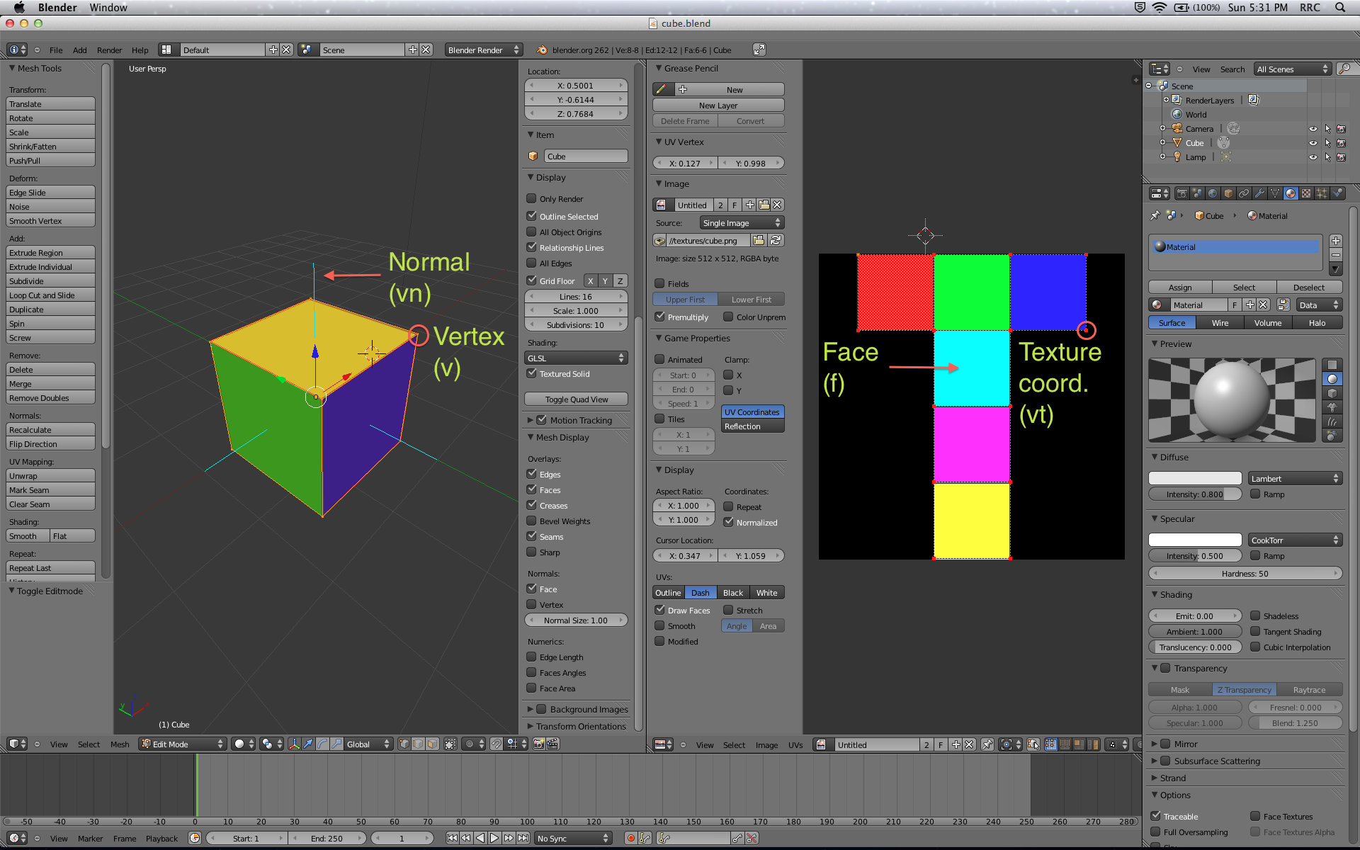 How To Export Blender Models to OpenGL ES: Part 1/3 | raywenderlich com