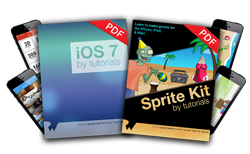 iOS 7 and Sprite Kit by Tutorials Bundle