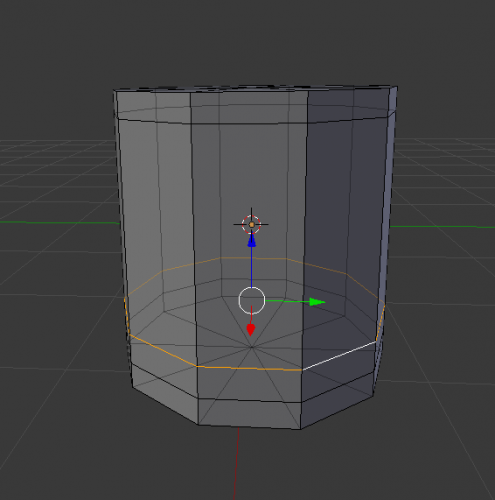 Blender edge select