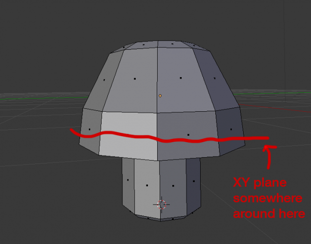 Blender changing object origin