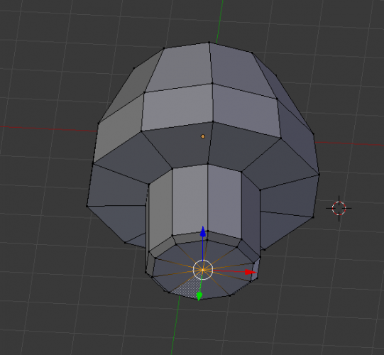 Blender select vertex