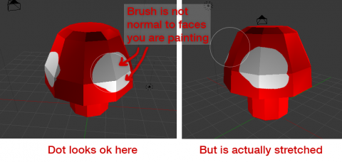 Blender paint object