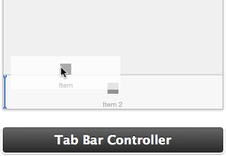 Drag tab items