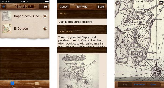 First run on iOS 7