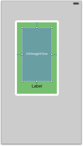 Image view with constraints