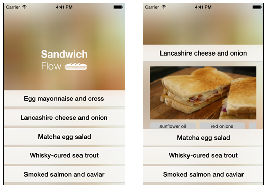 SandwichFlowDynamics