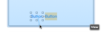 Ctrl-drag down from button