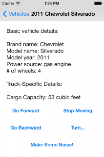 Truck-specific Details