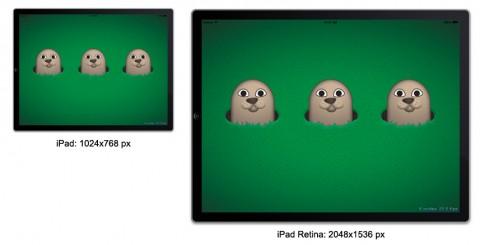 iPad vs Retina Display