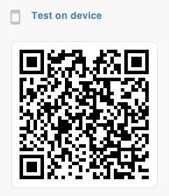 QR Code - FluidUI
