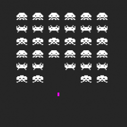 Learn how to make a game like Space Invaders!