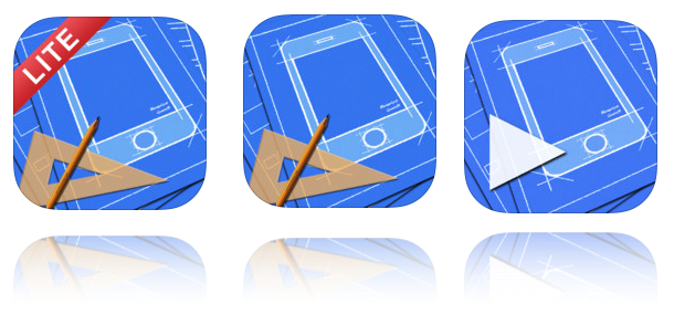 App mockup tools reviews part 1 ray wenderlich blueprint is a 1999 ipad application optimized for ios 7 that makes prototyping a breeze you can view your projects on the go with the free companion app malvernweather Gallery