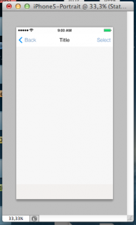 initial screen