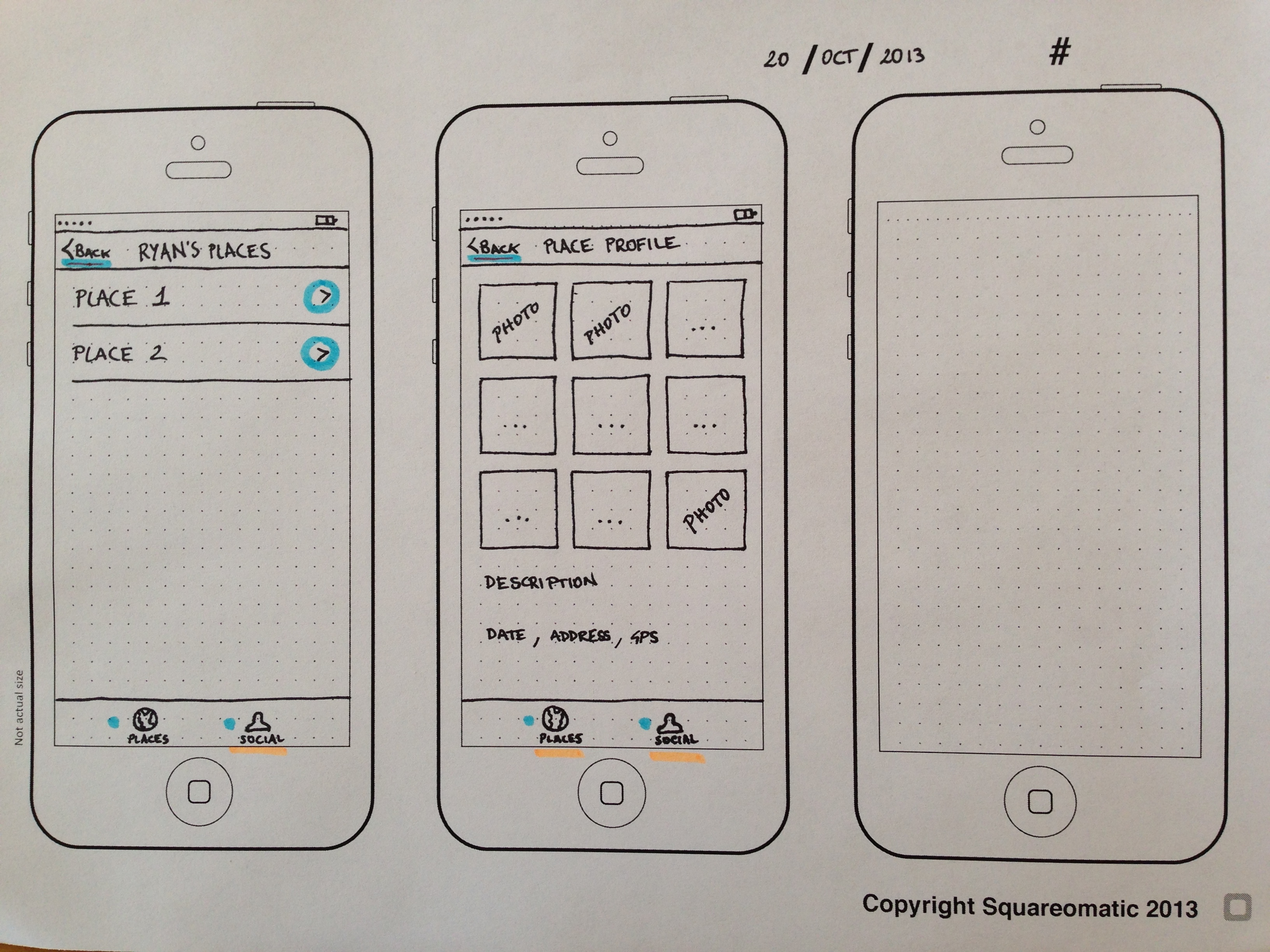 App mockup tools reviews part 1 ray wenderlich not only is this an easy and flexible way for me to sketch this information it makes the flow of the app quite clear to the person looking at the sketch malvernweather Choice Image