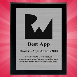 Winners – Reader's App Awards 2013!