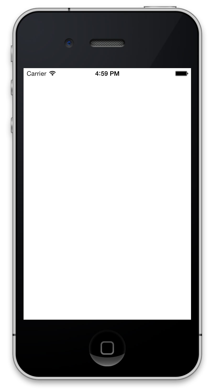 Image gallery iphone 5 blank screen template for Iphone app logo template