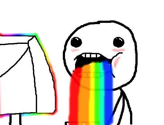 Rainbow Vom