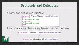 Protocols and Delegates