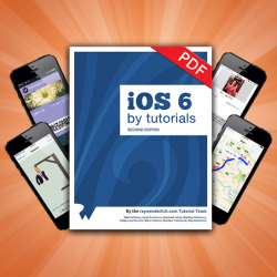 iOS 6 by Tutorials Second Edition Now Available!