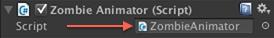 SpriteAnimator script in Inspector