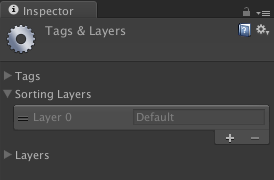 tags and layers editor
