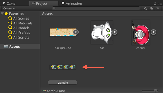 zombie asset before slicing