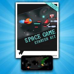 Space Game Starter Kit Third Edition (Sprite Kit Version) Now Available!