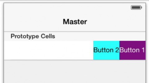 Buttons Added to Prototype Cell