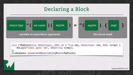 Objective-C Blocks