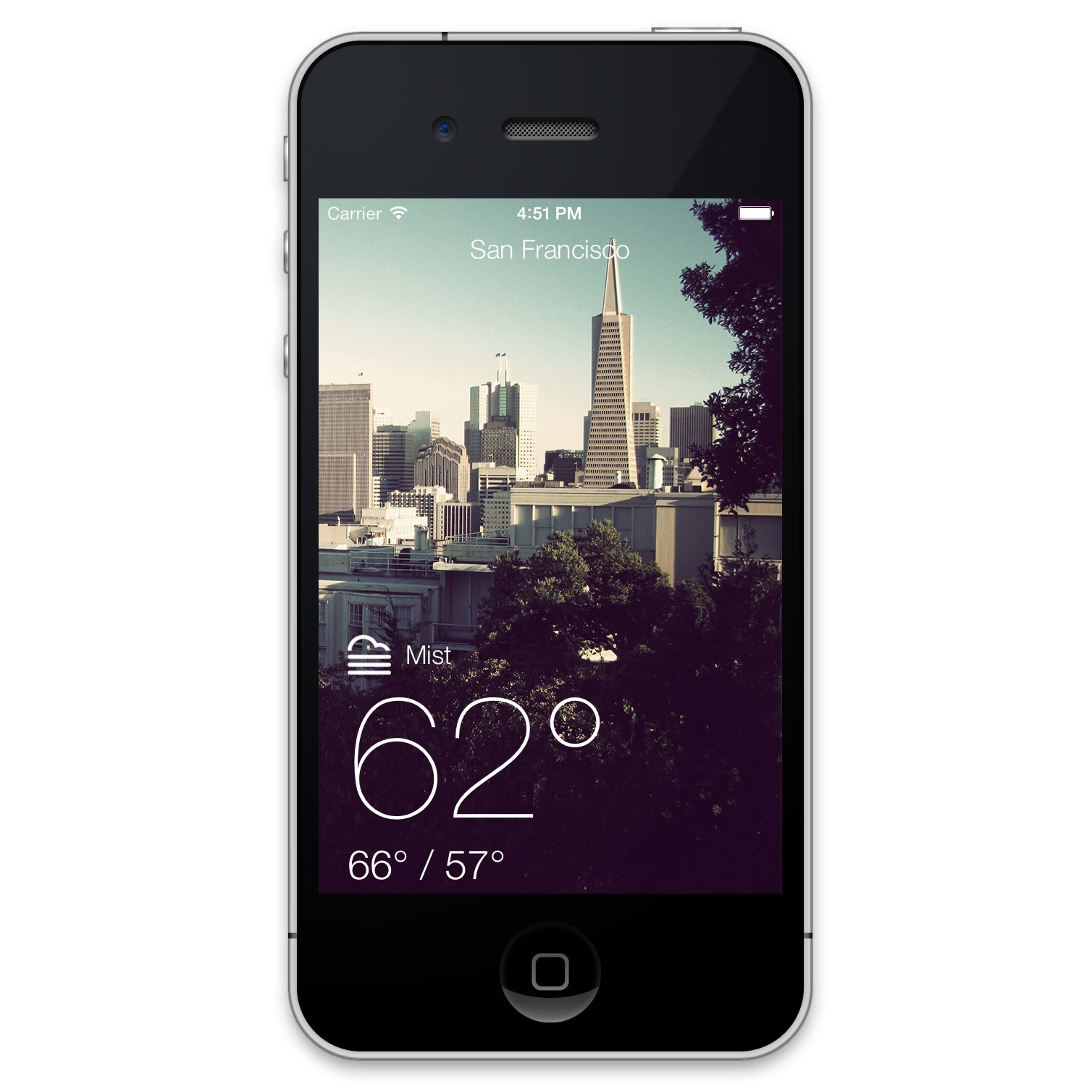 Ios 7 Best Practices A Weather App Case Study Part 2 Description Three Light Switches With Exposed Wiringjpg
