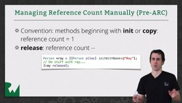 Manual Reference Count